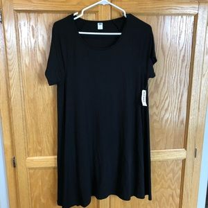 large NWT Old Navy black dress